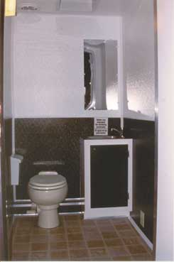 Restroom Trailer Interior Example 2