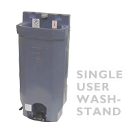 Single User Wash Stand